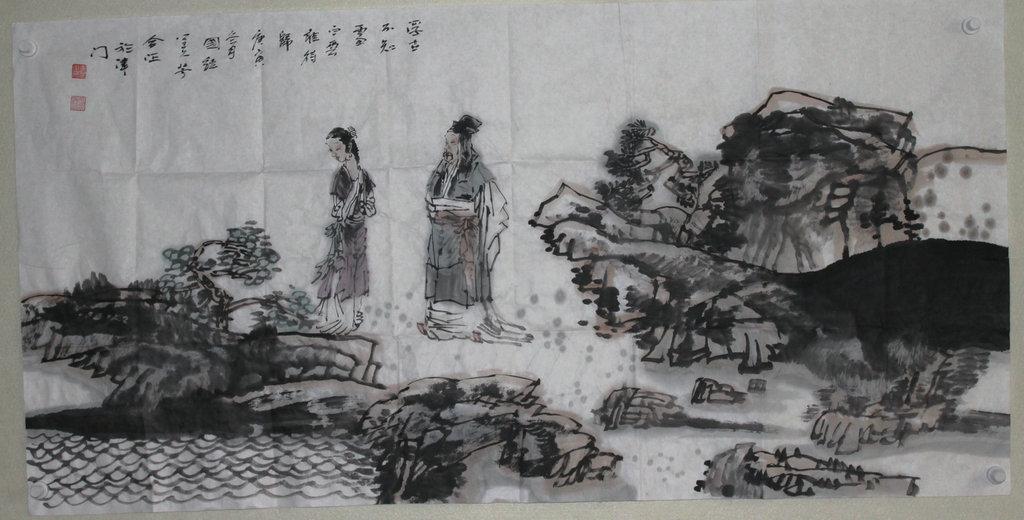 赵国经 中国/尺寸:69x138 价格协商